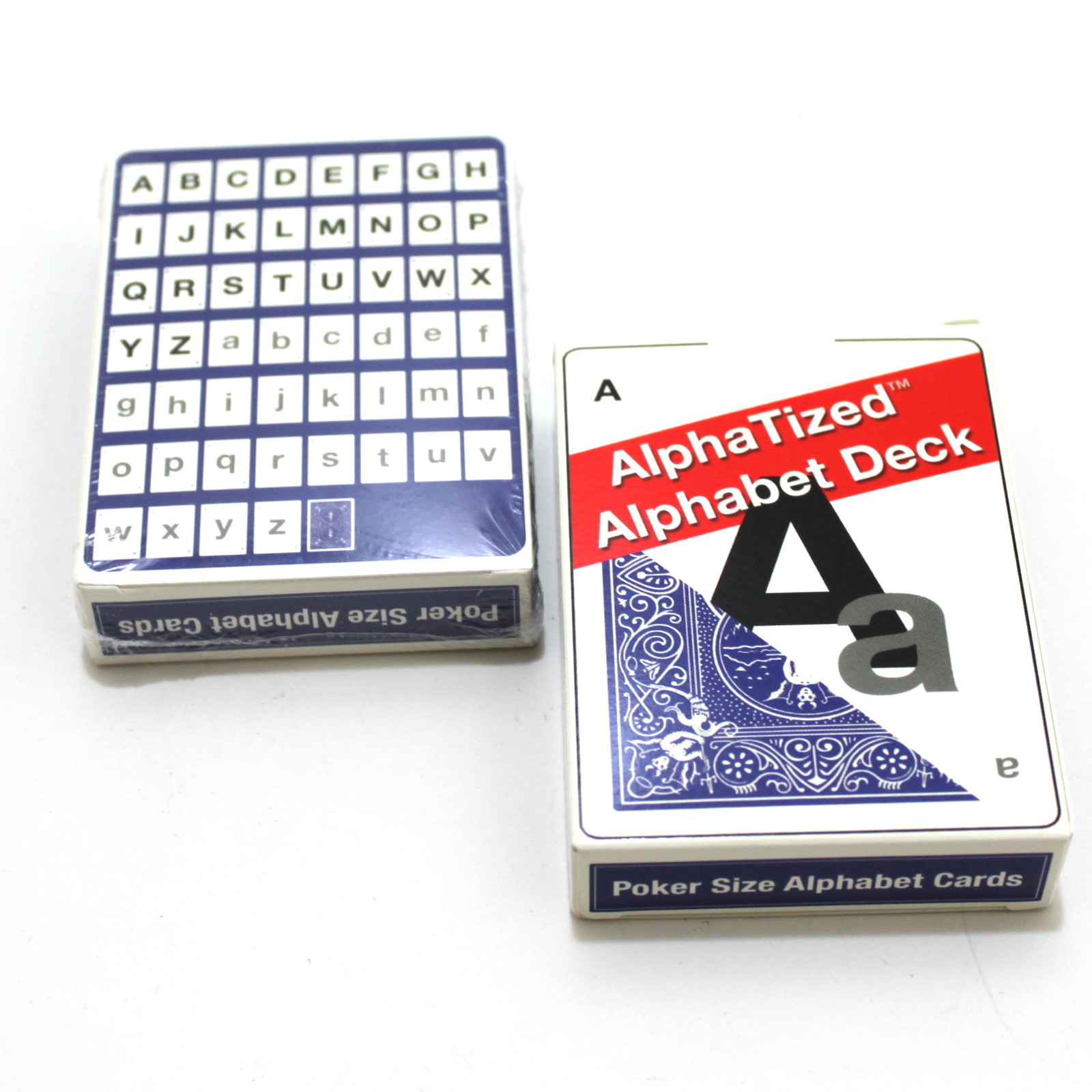 Alphatized Alphabet Deck by Lee Earle