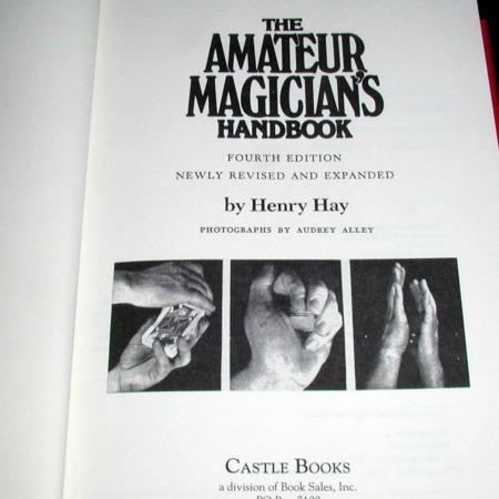Amateur Magician's Handbook by Henry Hay