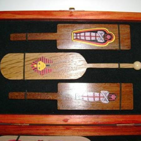 Ancient Paddle Collection by Francois Danis