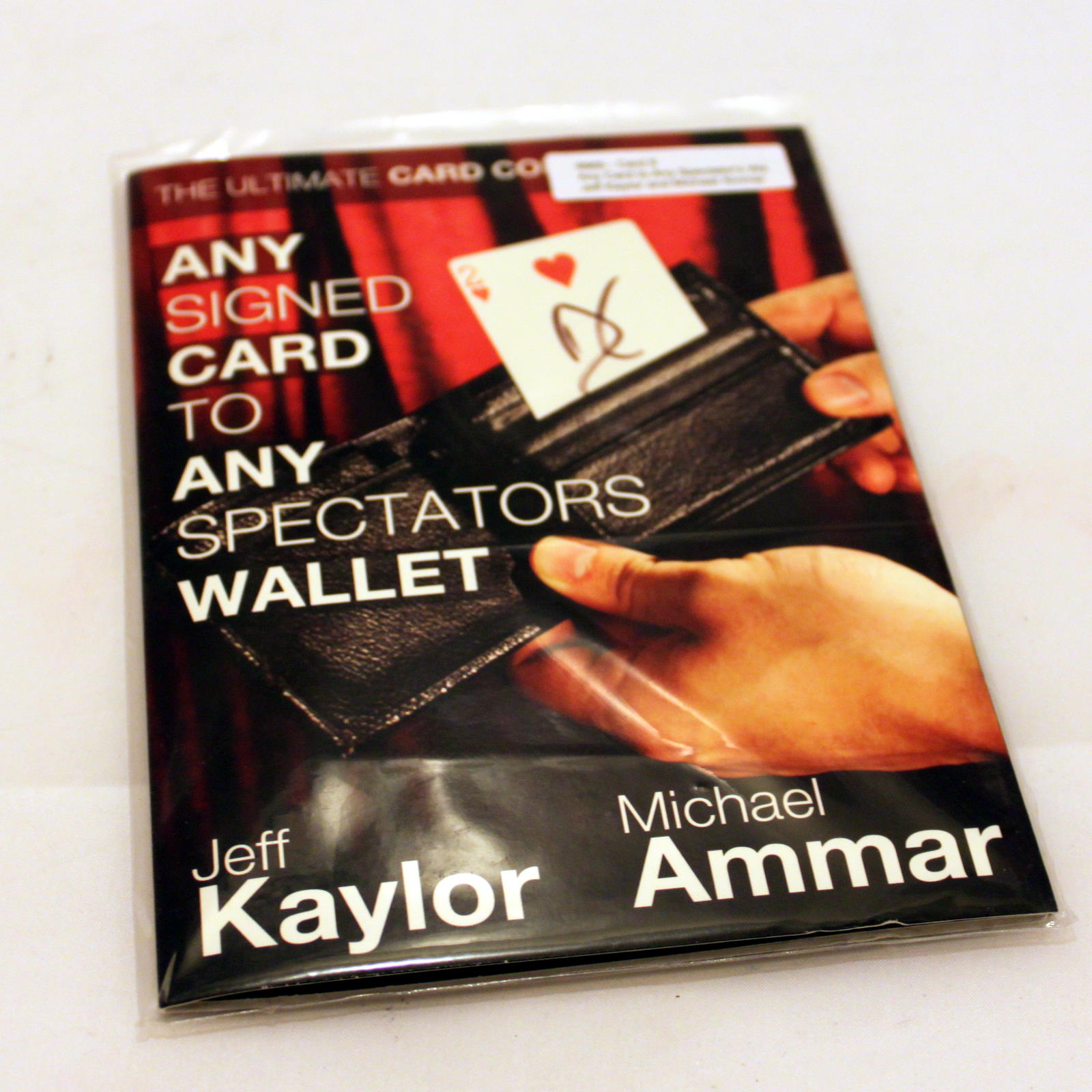 Any Signed Card to Any Spectators Wallet by Jeff Kaylor, Michael Ammar