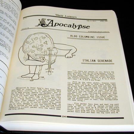 Apocalypse: Vols: 16-20 by Harry Lorayne
