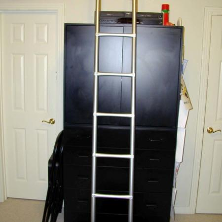 Appearing Ladder by Wayne Rogers