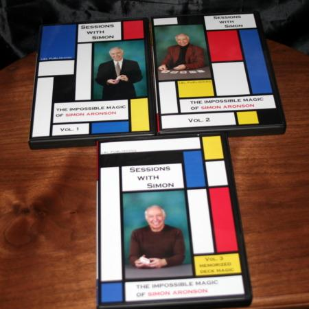 Sessions With Simon - Vols.1-3 DVD by Simon Aronson