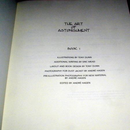 Art of Astonishment - Vol. 1 by Paul Harris