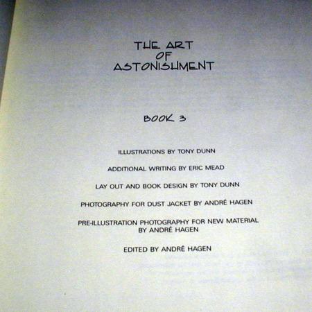 Art of Astonishment - Vol. 3 by Paul Harris