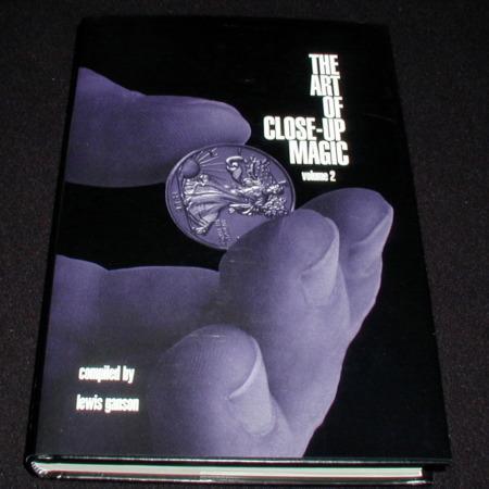 Art of Close-up Magic: Vol. 2 by Lewis Ganson