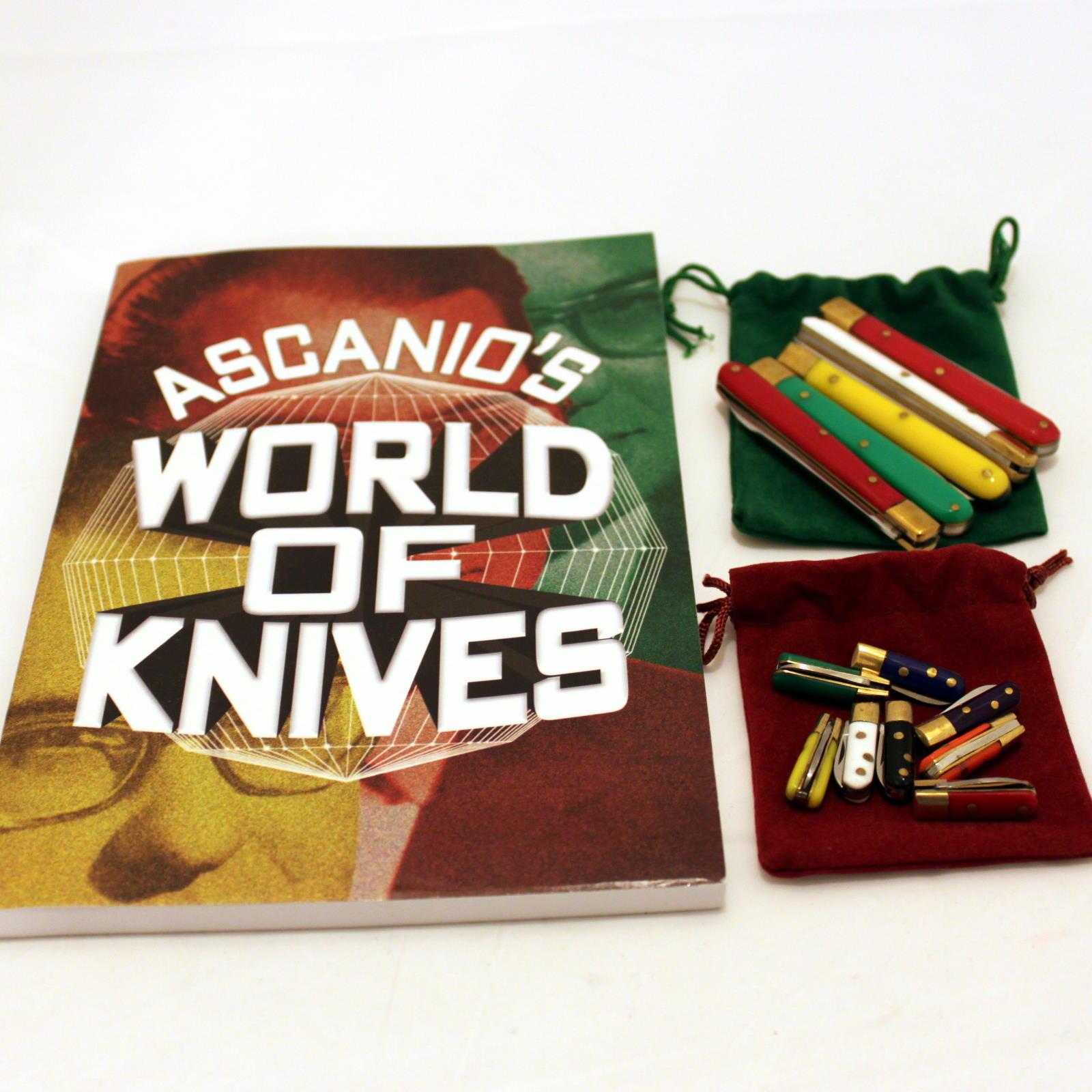 Ascanio World of Knives + Knives by Joe Mogar, Ascanio