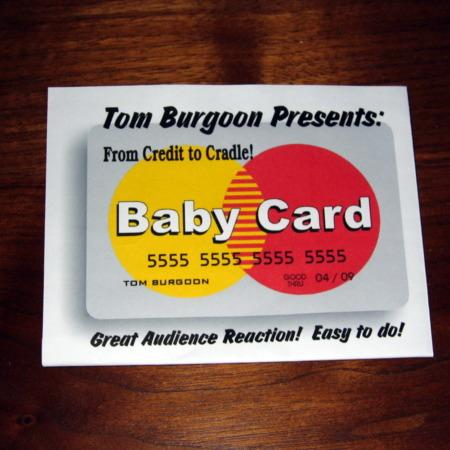 Baby Card by Tom Burgoon
