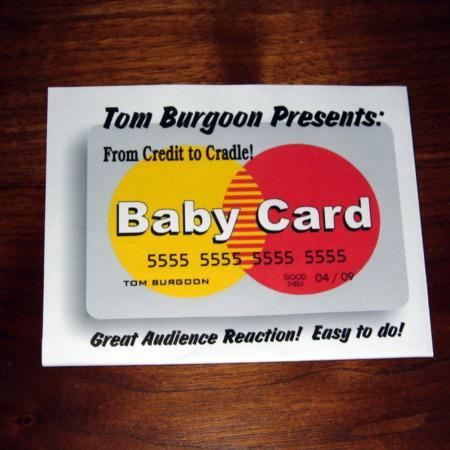 Baby Card by Tom Burgoon