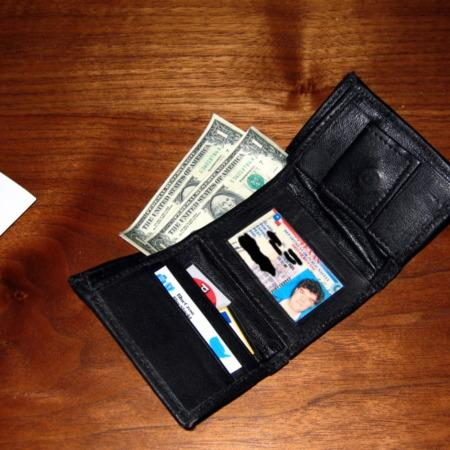 Baby Wallet by Tom Burgoon