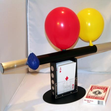 Jumbo Balloon Wand 2 by Wolf's Magic
