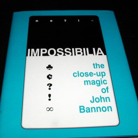 Review by Anonymous for Impossibilia by John Bannon