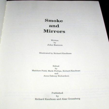 Smoke and Mirrors by John Bannon