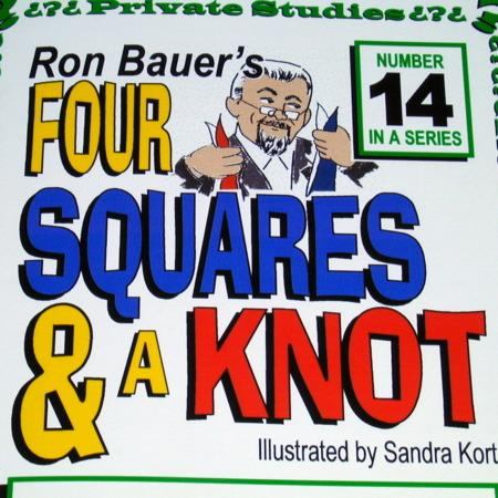 Bauer 14 - Four Squares and A Knot by Ron Bauer