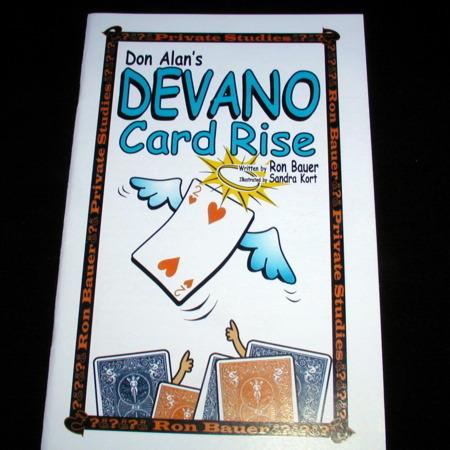 Bauer - Devano Card Rise by Ron Bauer