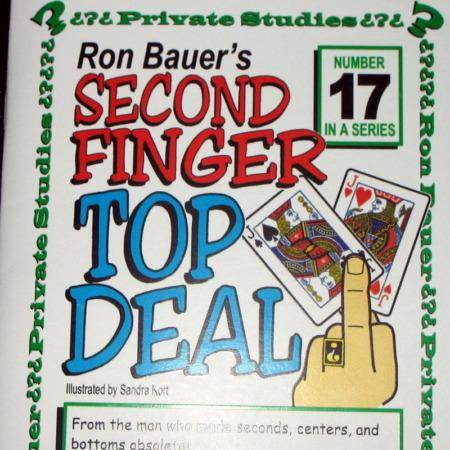 Bauer 17 - Second Finger Top Deal by Ron Bauer