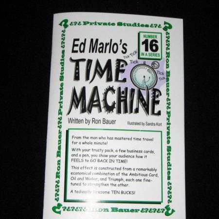 Bauer 16 - Time Machine by Ron Bauer