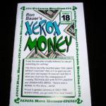 Bauer 18 - Xerox Money by Ron Bauer