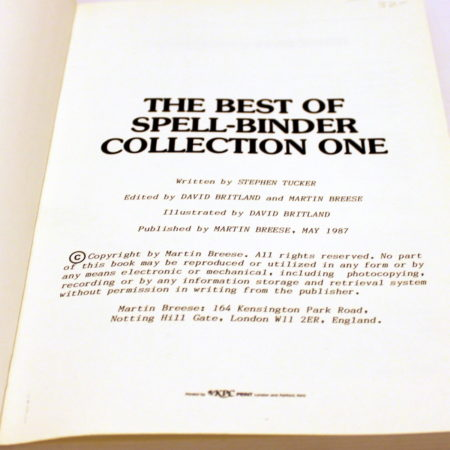 Best of Spell Binder - Collection One by Stephen Tucker
