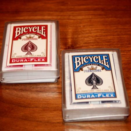 Bicycle Prestige Decks (Red + Blue) by USPC