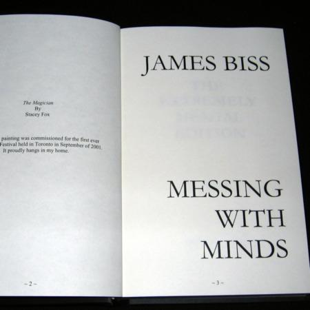 Messing with Minds - Extremely Mental Edition by James Biss