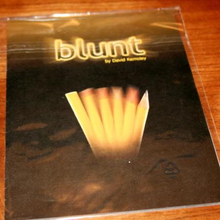 Blunt by David Kemsley