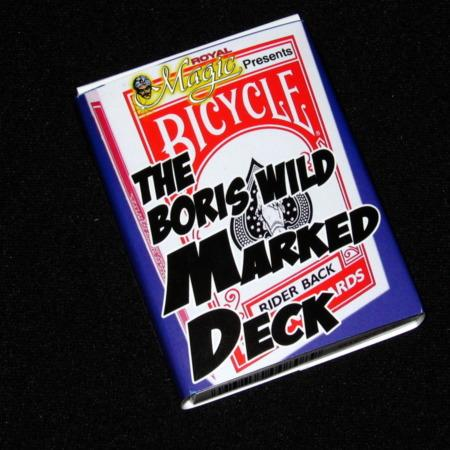 Boris Wild Marked Deck - Bicycle by Boris Wild