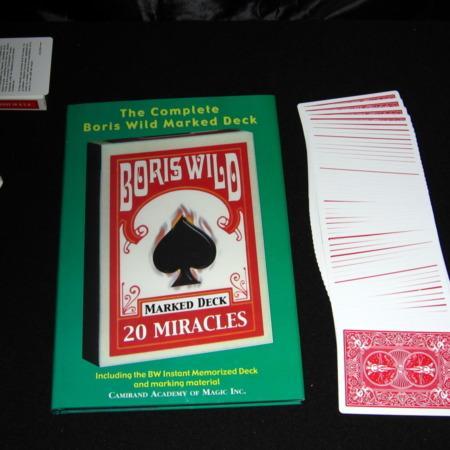 Boris Wild Marked Deck - Bicycle by Boris Wild