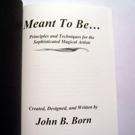 Meant to be by John B. Born