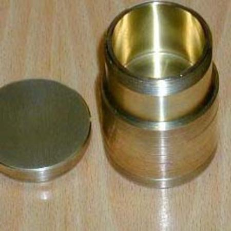 Niffen Tube (Brass) by Bobs Magic Shop