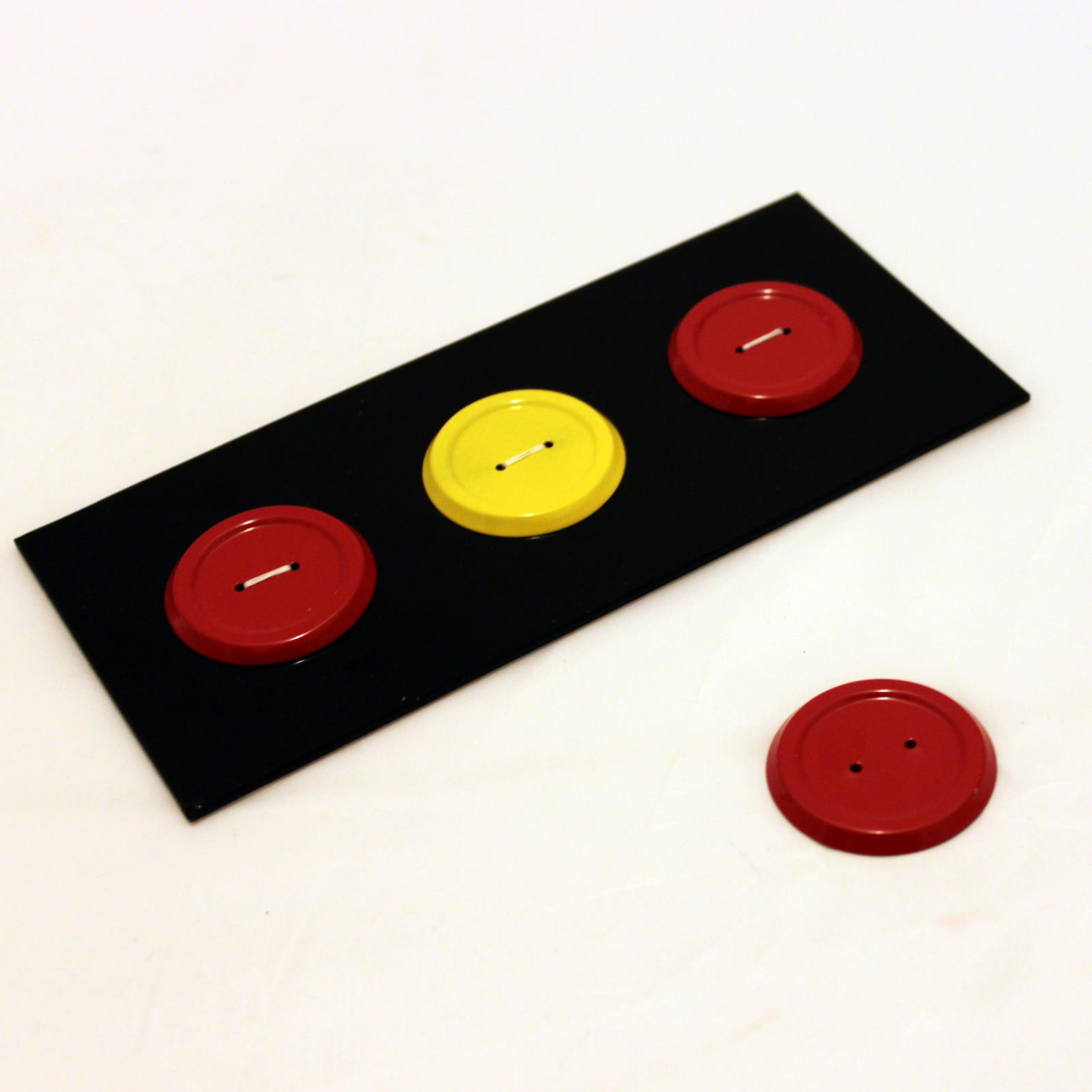 Buttons Up by Wolfgang Wollet