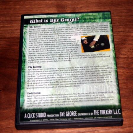 Bye George DVD by Al Lagomarsino