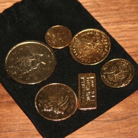California Gold Rush Coin Set by Viking Mfg.