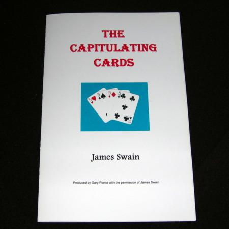 Capitulating Cards (James Swain) by Gary Plants