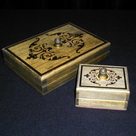 Card and Silk Chest by Arlen Studio