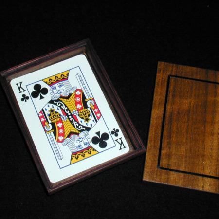 Card Box - non magnetic by Woodmagic Studio