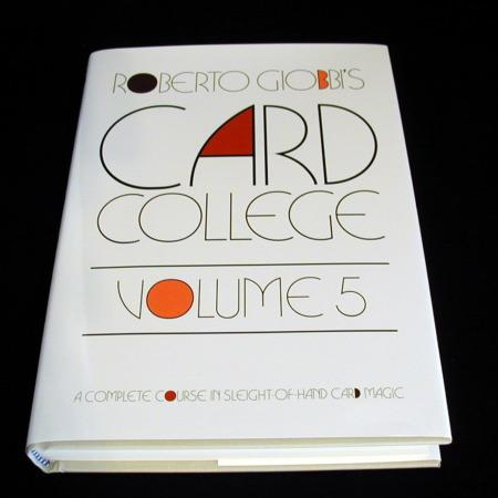 Card College - Vol. 5 by Roberto Giobbi