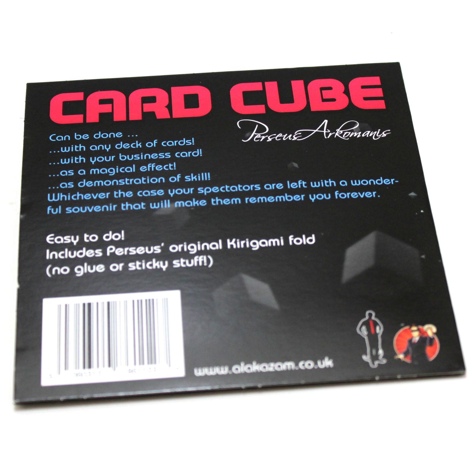 card cubeperseus arkomanis  martin's magic collection