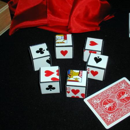 Card Dice by Unknown