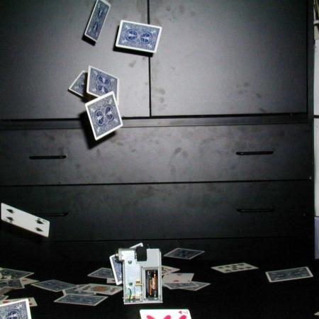 Card Fountain by Marcelo Contento