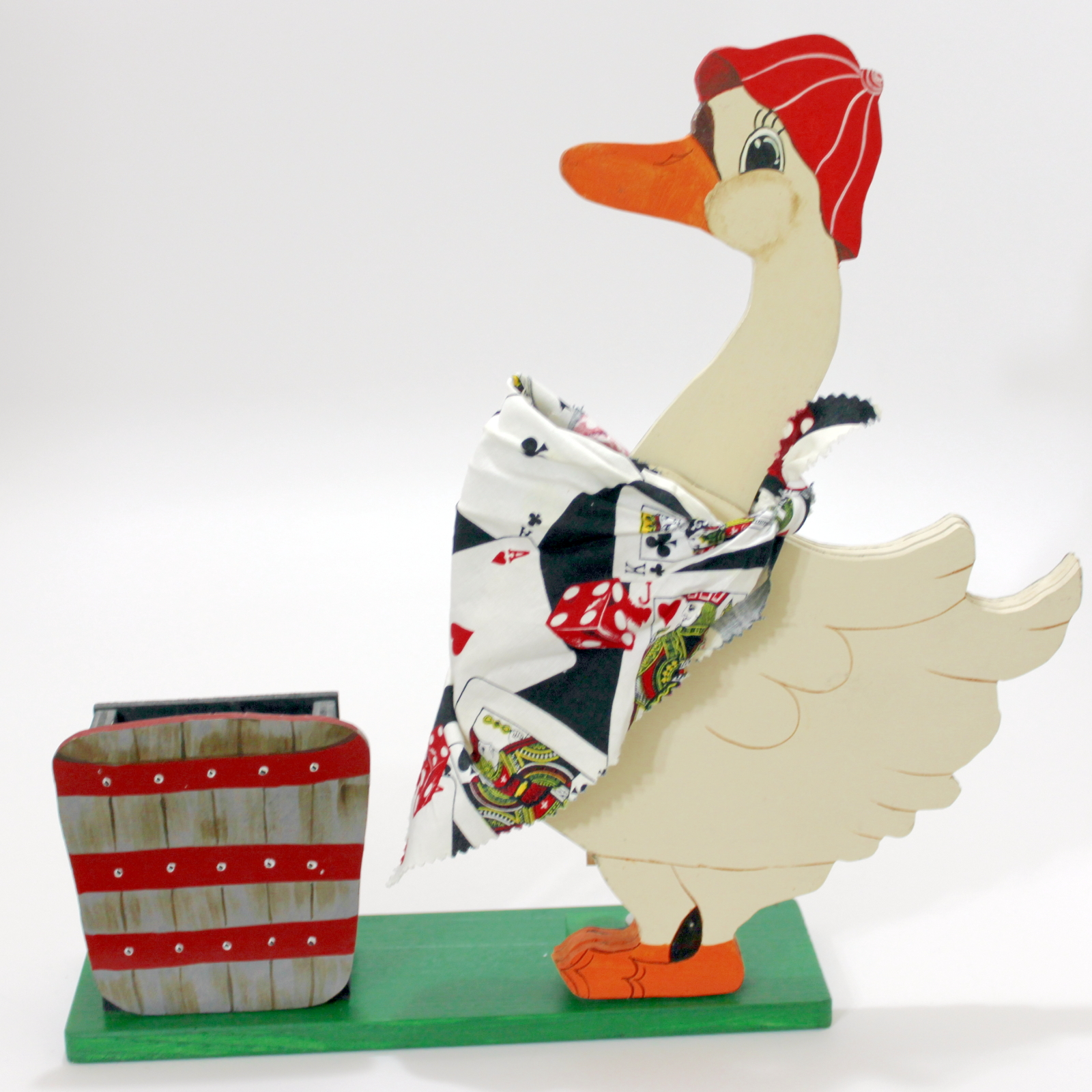 Mother Goose (Card Picking Goose) by Jack Hughes