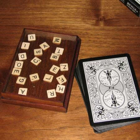 Review by Howard for Card Scrabble by Martin's Magic