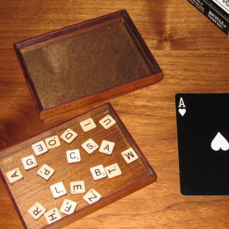 Card Scrabble by Martin's Magic