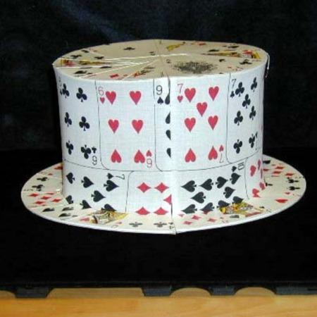 Card Top Hat by Unknown