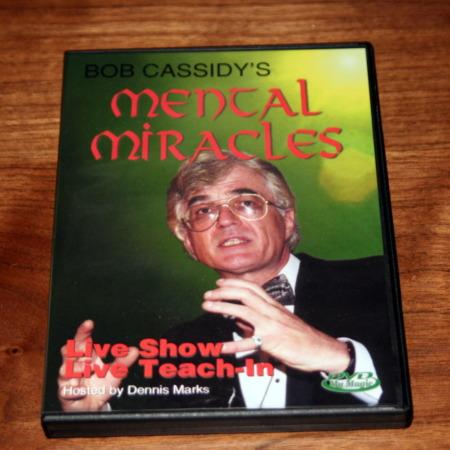 Mental Miracles DVD by Bob Cassidy