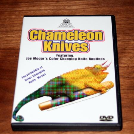 Chameleon Knives DVD by Joe Mogar