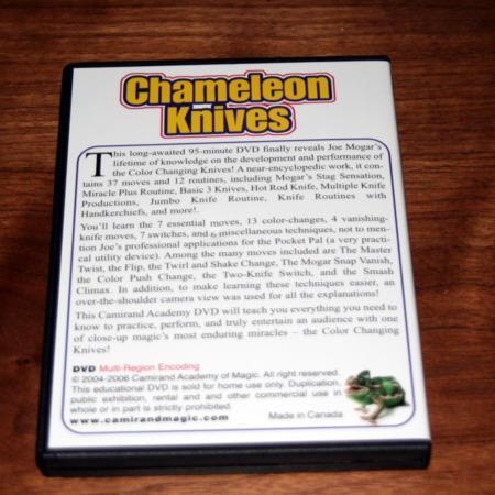 Chameleon Knives DVD by Joe Mogar