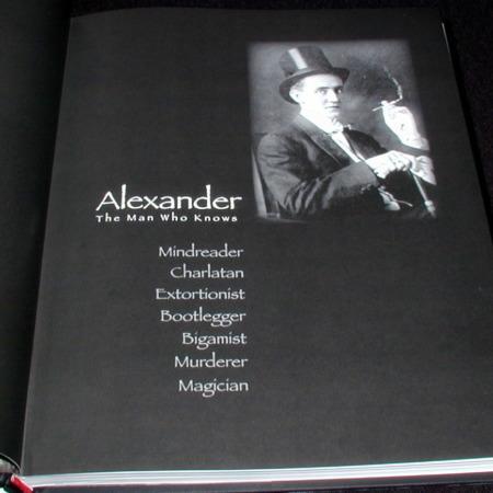 Alexander - The Man Who Knows by David Charvet, John Pomeroy