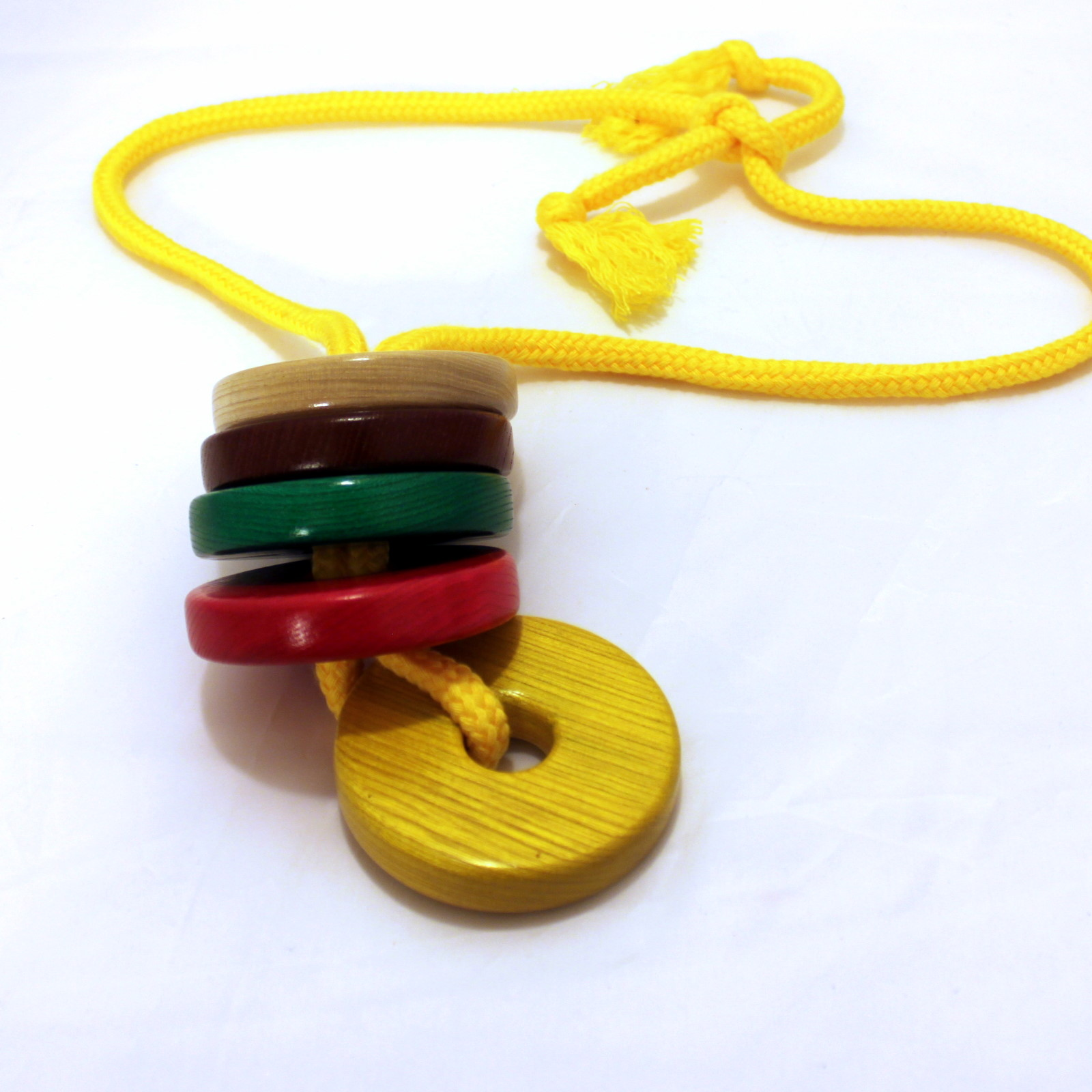 Checkers Necklace by Mikame Craft