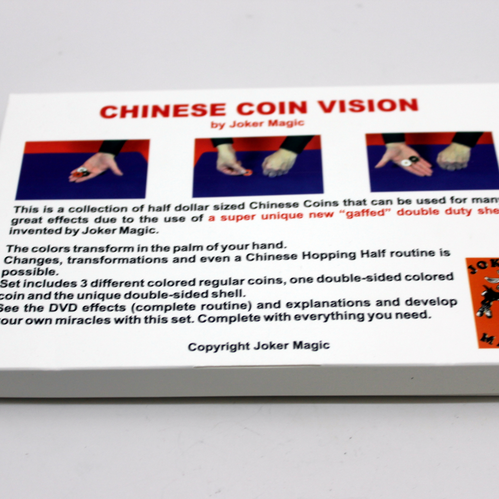 Chinese Coin Vision by Joker Magic